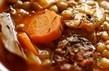 Supă de linte cu zarzavat și carne afumată